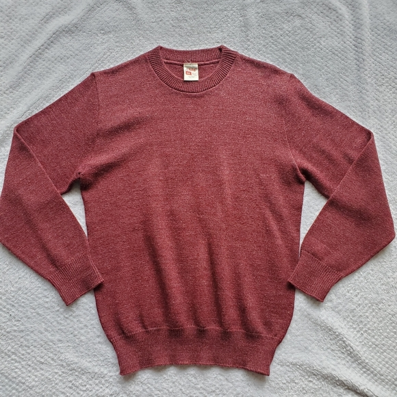 St Michael Other - St Michael Vintage Burgundy Sweater Size 40